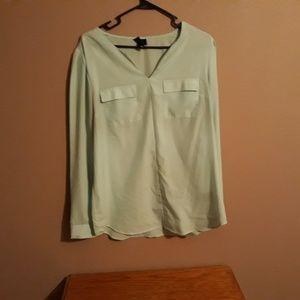 Light green tunic
